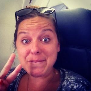 Plane Ride Back